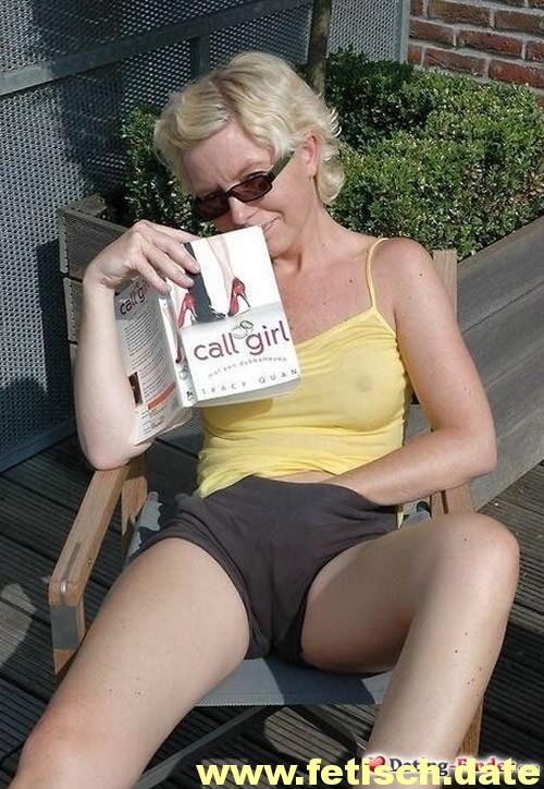 MILF, blonde kurze Haare, Callgirl, Kamen, Taschengeldsex